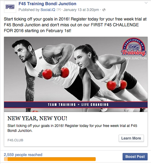 Fasting growing fitness network