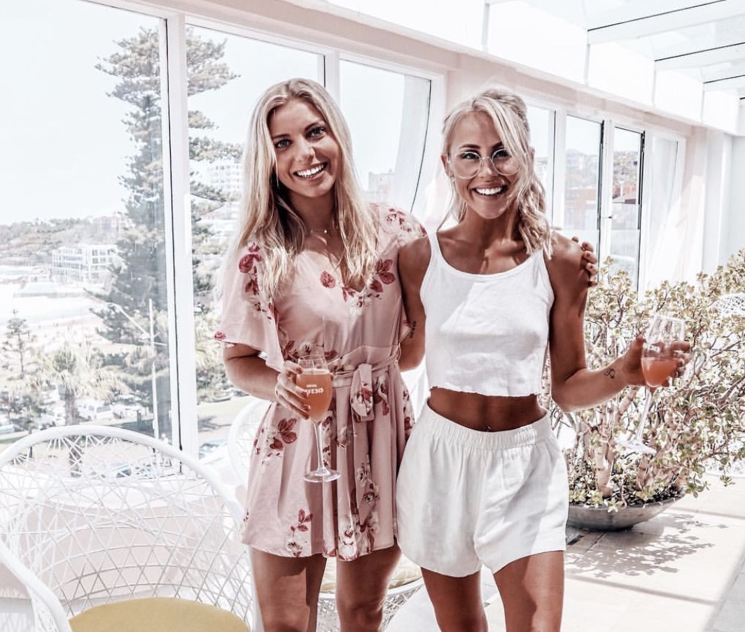 Fitness and wellness influencers Christie Swadling and Monique Craft